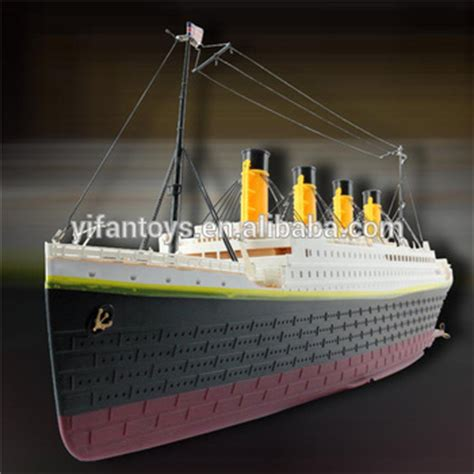 titanic model boat for sale 1 325 scale rc titanic boat ship model toys with light and