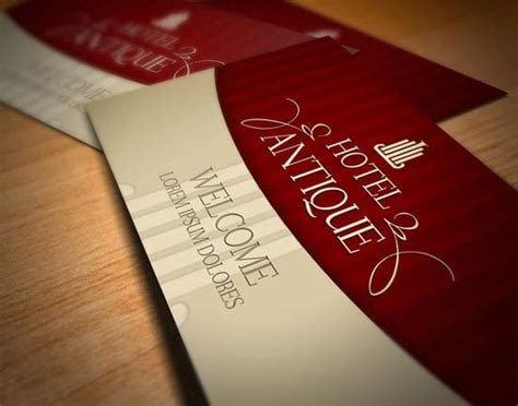 Hotels Com Gift Card - 16 creative hotel business cards design freebies