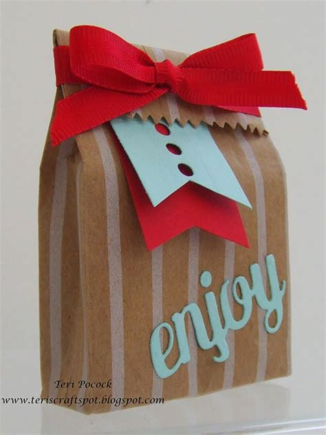 Goodie Bag Bantal Bulu Mini 22 best images about crafts mini treat bag dies on gift card holders bags and punch