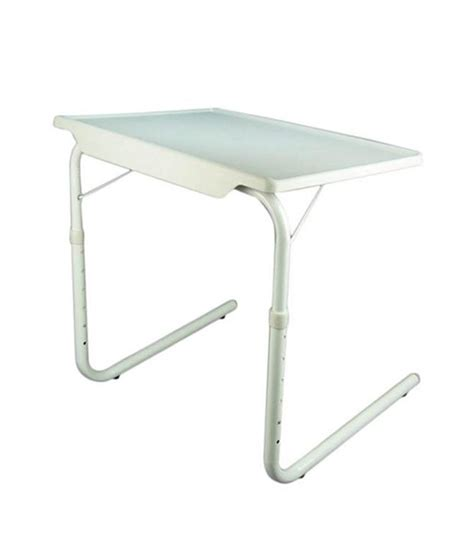 accedre portable table with adjustable tray buy online at