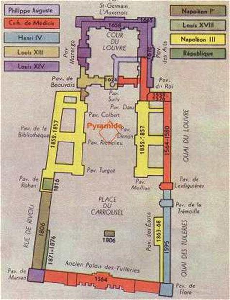 Versailles Floor Plan by Paris Le Louvre Et Son Mus 233 E