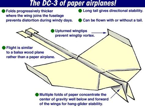 How To Make A Paper Airplane That Flips - dc3