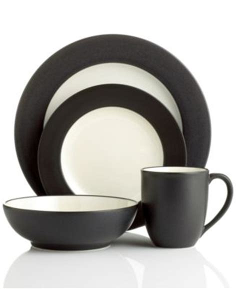 noritake colorwave graphite noritake colorwave graphite coupe 20 set service for 4 dinnerware dining