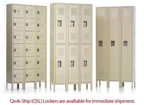 Bathroom Cabinets With Locks - qsl lockers from republic storage systems llc