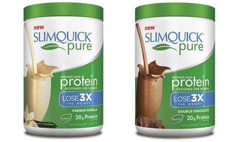 x weight loss powder slimquick protein powder livingsocial shop