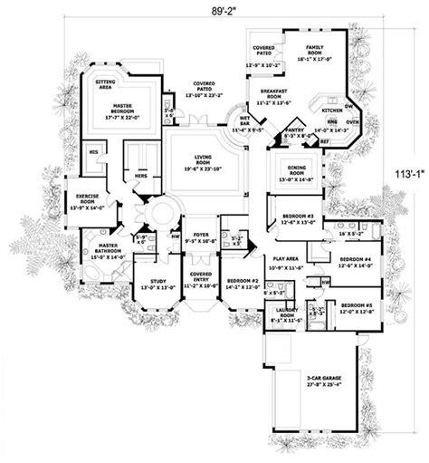 5 bedroom 3 car garage house plans 5 bedroom 3 car garage house plans house and home design