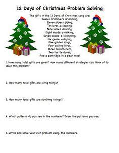 christmas math on pinterest brain teasers math and puzzles