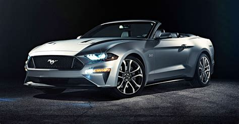 convertible mustang 2018 ford mustang convertible revealed photos 1 of 3