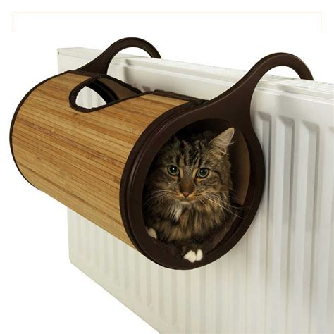 cat beds for large cats rosewood jolly moggy natural bamboo radiator bed