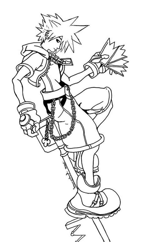 free coloring pages kingdom hearts kingdom hearts coloring pages to download and print for free