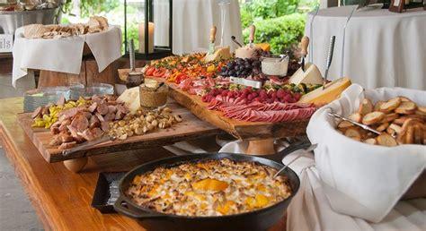 appetizer wedding reception appetizers horz food display inspiration wedding reception