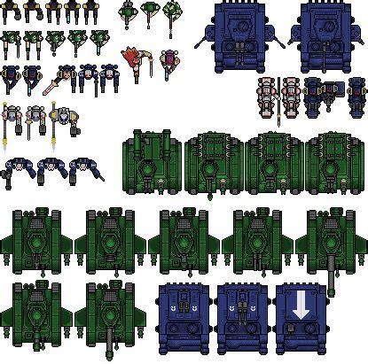 pixel car top view top down sprites photo imperialsheet 2 png pixel art