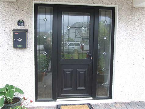 Plastic Front Doors Aylsham Windows Norfolk Front Doors Black Pvc Front Door