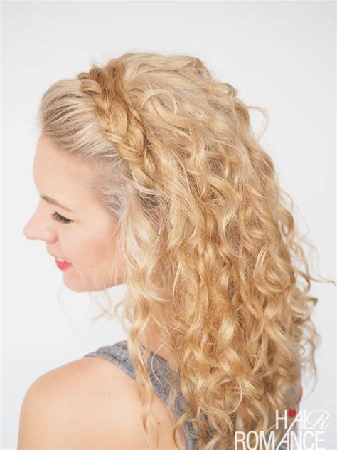 headband curly hairstyles 30 curly hairstyles in 30 days day 27 hair romance
