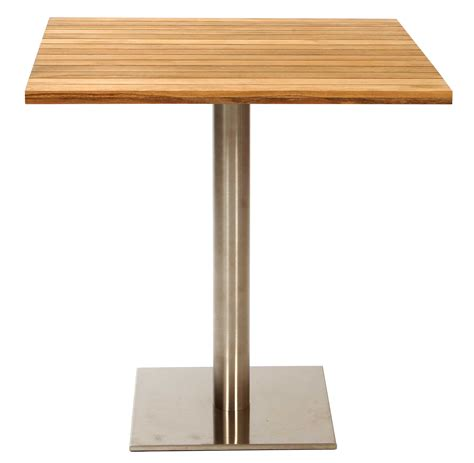 antibes square pedestal table 70cm pr home
