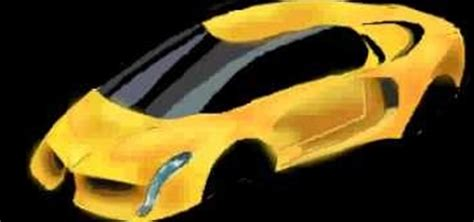 How to Draw a Lamborghini sports car on a computer