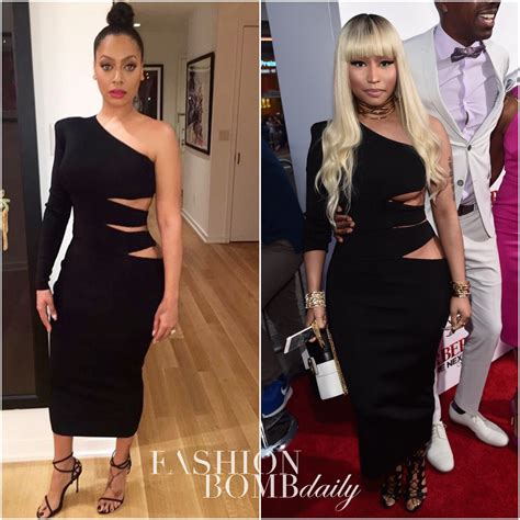 Who Wore Bebe Better by Who Wore It Better Lala Anthony Vs Nicki Minaj In