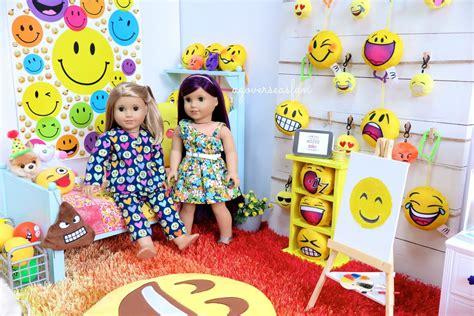 emoji room american girl doll emoji room youtube