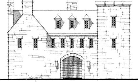 scottish castle house plans modern house plan modern
