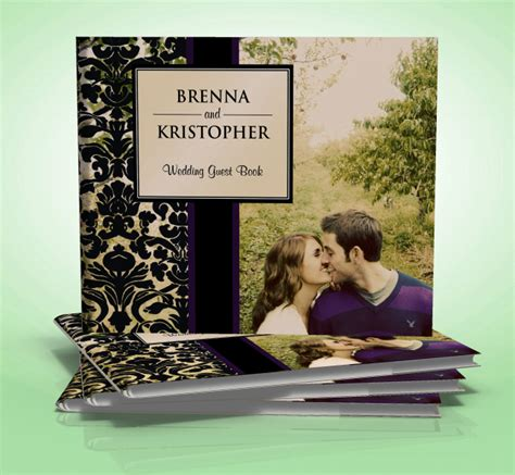 wedding photo book covers guest books by akdweddings ca wedding other
