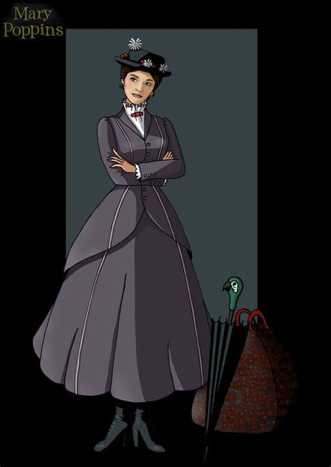 Mary Poppins By Buttercuplf Deviantart | mary poppins by nightwing1975 on deviantart