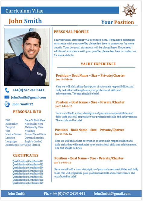Reference Letter Yacht Stewardess exles of yacht stewardess cv style guide myths