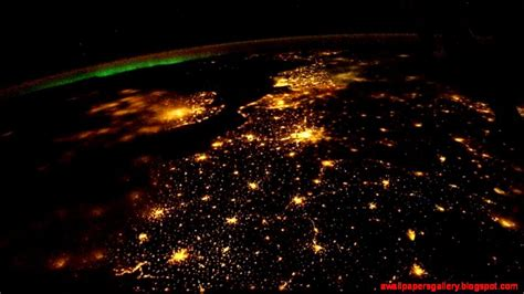 wallpaper earth at night earth at night from space wallpaper wallpapers gallery