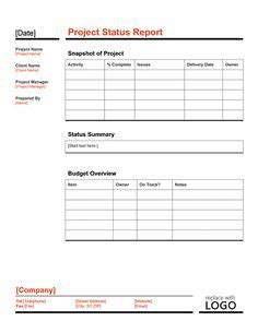 Accenture Pmo Template Program And Project Management Pinterest Templates Automation Status Report Template