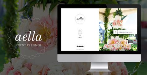 event portfolio template aella psd template for event planners by munfactory