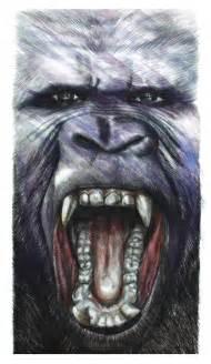 king kong canvas print beart24 society6