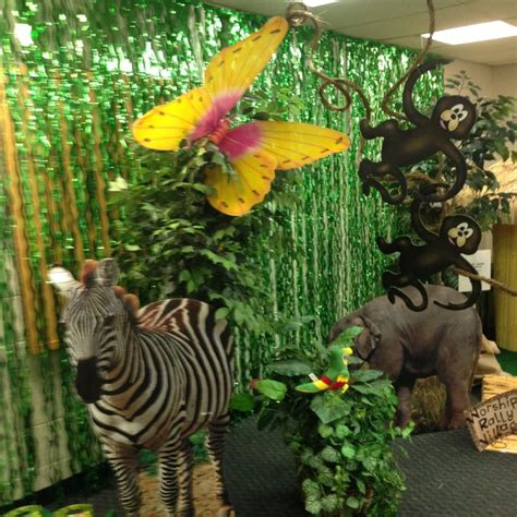 Jungle Themed Home Decor by Vbs Jungle Theme Decorations Vbs 2015