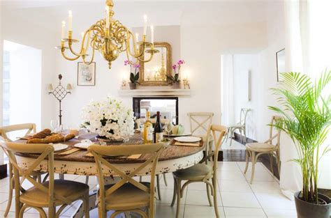 french country style dining rooms