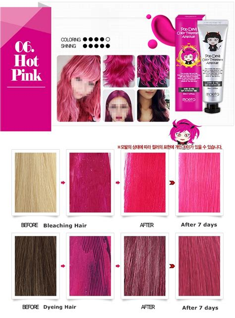 7 Ways To Care For Color Treated Hair by Moeta Pop Hair Dye