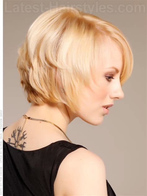 side views of short layeredbobs choppy bob hairstyles 14 stunning choppy bobs