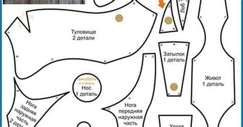 sewing pattern language diy beagle plushie free sewing pattern template free