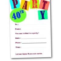 40th birthday invitations free templates 40th birthday invitations free printable invites