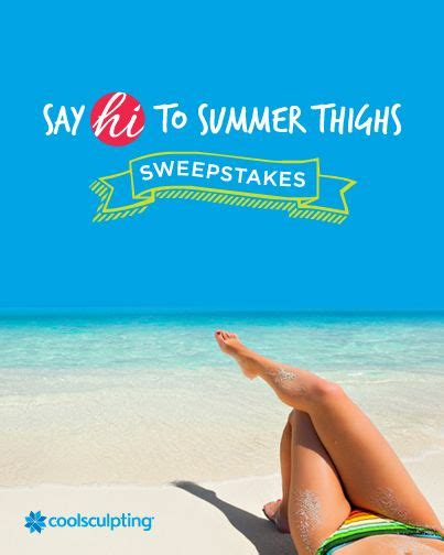 Coolsculpting Sweepstakes - 17 best images about coolsculpting events on pinterest i win young and and color