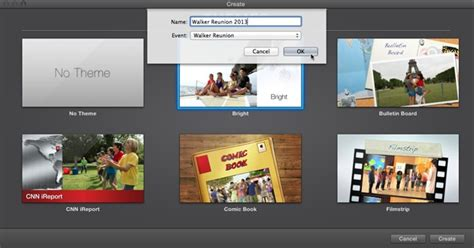new themes imovie 4 projects imovie the missing manual book