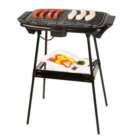 barbecue electrique sur pied 2196 barbecue 233 lectrique pas cher sur pied