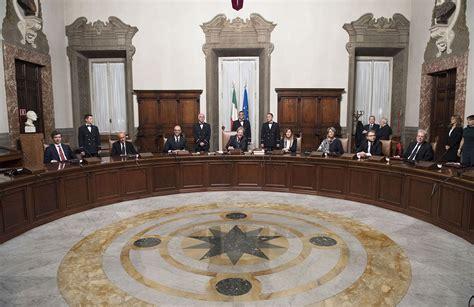 consiglio dei ministri di oggi governo tutti i ministri di gentiloni e renzi italia