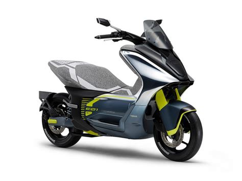 yamaha  showcase  electric scooters   mystery