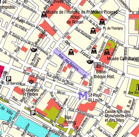 jewish section paris jewish section of paris map