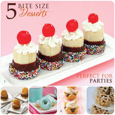 desserts for parties individual desserts recipes easy food easy recipes