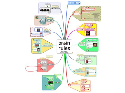 Rule Of The Brains by Brain Mind Map Biggerplate
