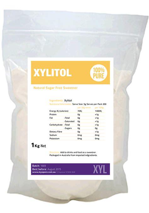 xylitol hydration xylitol sugar free sweetener myopure