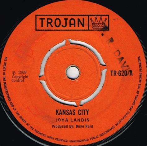 Kansas City Records Joya Landis Kansas City Shm Records