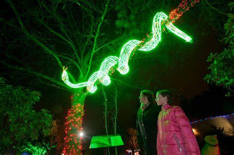 Festivities For Feeling Festive The Columbian Zoo Lights Portland Zoo
