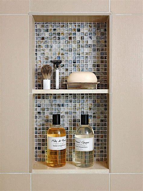 Tile Shower Shelf Ideas by Bathroom Shower Tile Ideas