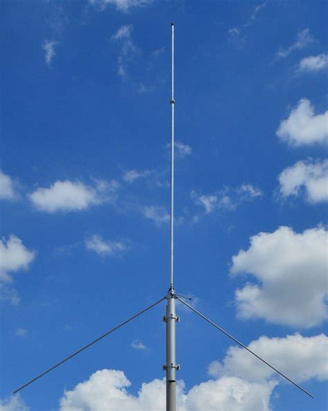 jtb144 vhf base antenna 3db 100 watts tuneable marine commercial ebay
