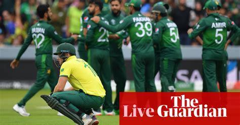 pakistan win   runs  knock south africa